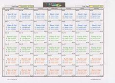 tony horton 10 minute trainer calendar pdf