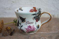 Handmade Coffee Cup ceramic small teacup by ManuelaMarinoCeramic
