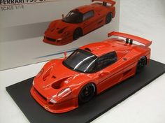 Currently at the Catawiki auctions: Fujimi Resin Collection - Scale 1/18 - Ferrari F50 GT Red with black rims