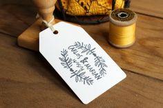 detalles de boda sello personalizado kraft hermanas bolena