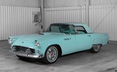 1955 Ford Thunderbird....i have to own this car at least once in my life...