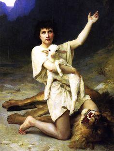 c0ssette:  Elizabeth Jane Gardner (1837–1922) David the Shepherd.