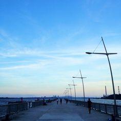 Went for a jog #singapore #sg #woodlands #waterfront #guosheng #guoshengz #sunset #clouds #sky #iphone4s #nofilter
