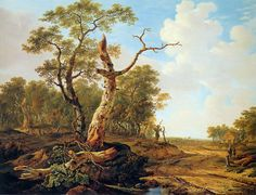 Jacob van Strij - Landscape with dead tree