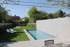 Modern zwembad - stadstuin in Gent - dcPools