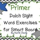 SmartBoard Dolch sight words.
