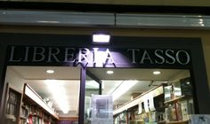 Libreria Tasso, Sorrento Italy Named after a father-son pair of poets from the Renaissance who are Sorrento icons.