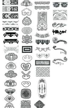 如意 中国纹样图片