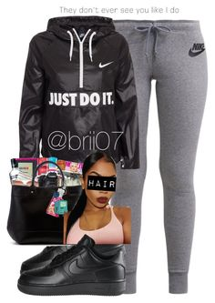 """""""Untitled #27"""" by brii07 ❤ liked on Polyvore featuring NIKE"""