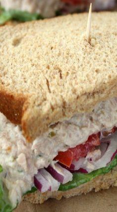 CopyCat Panera Tuna Salad Sandwich