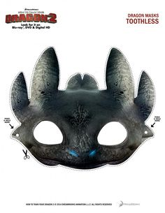 Dreamworks Animation How To Train Your Dragon 2 Halloween Masks, Pumpkin Stencil and Recipes #DragonsInsiders #HTTYD2