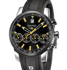 Eberhard & Co. | Chrono 4 Grande Taille Colors | Edelstahl | Uhren-Datenbank watchtime.net
