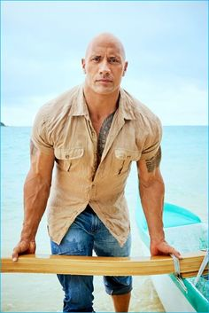 Jeff Lipsky photographs Dwayne 'The Rock' Johnson for People magazine.