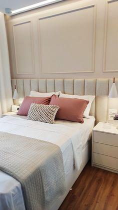 Room Design Bedroom, Living Room Bedroom, Bedroom Decor, Beauty Room Decor, Couple Room, Design Moderne, Cuisines Design, Bedroom Vintage, Room Inspiration