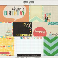 Make a Wish | The Journaling Cards