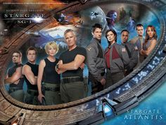 Cast of Stargate SG1 and Atlantis