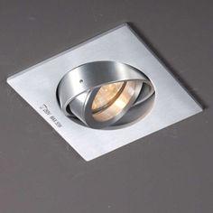 Einbaustrahler Club Quadrat Topqualität Designer Einbaustrahler dreh- und schwenkbar.  #Einbauleuchte #Lampe #Light #einrichten #Innenbeleuchtung #wohnen