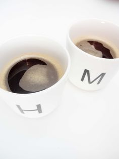 OMW - its my long lost coffee cups - M and H - I have a partiality!