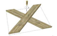 Maak je eigen steigerhouten tafel samen met Praxis | Praxis