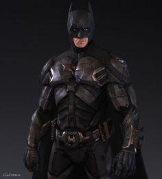 BATMAN Desert Storm! SCALA 1:1 INDOSSABILE COSPLAY (costume armatura bat man)