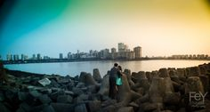 Enjoy the sunset scenic beauty with your spouse with us on your Pre wedding shoot at BX Studio. Top Photographers, Wedding Shoot, New York Skyline, Wedding Photography, Romantic, Sunset, Studio, Travel, Voyage