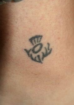 Thistle Tattoo | Flickr