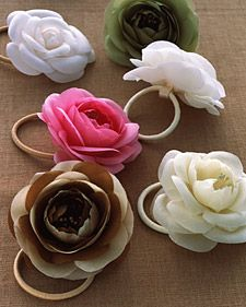 Silk-Flower Hair Bands | Step-by-Step | DIY Craft How To's and Instructions| Martha Stewart