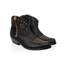 Cowboy/Gold Studded Boots!