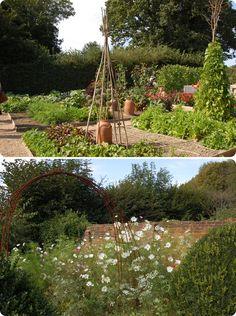 the cupboard, Sarah Raven's Gardens