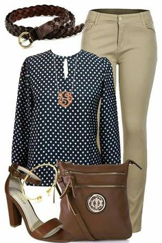 jeggings outfit I would switch the pants but like the color scheme. Casual Work Outfits, Business Casual Outfits, Professional Outfits, Mode Outfits, Work Casual, Fall Outfits, Fashion Outfits, Business Attire, Woman Outfits