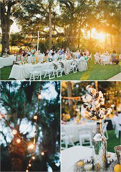 outdoor wedding perfection.