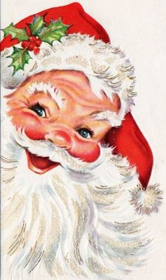 Santa Christmas Card Unused AK89 | eBay (237x400)