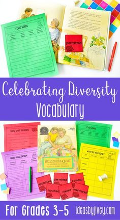 Vocabulary must be taught in context for students to truly understand the words and build relationships with them, and then in turn use them in writing and speaking. Move away from lists of vocabulary words and looking up definitions, and teach students how to comprehend with this best practice bundle! I have provided activities designed on researched best practices for use with popular diverse mentor texts to help you maximize your teaching time. #mentortexts #weneeddiversebooks