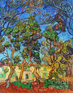 Van Gogh: Hospital, 1889