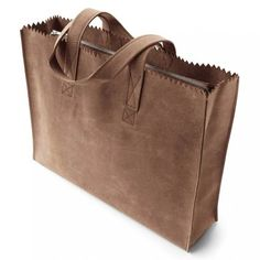 MYOMY PAPER BAG Go Original: prachtige shopper met toprits in de originele My Paper Bag kleur. #myomy #bag #tas #shopper