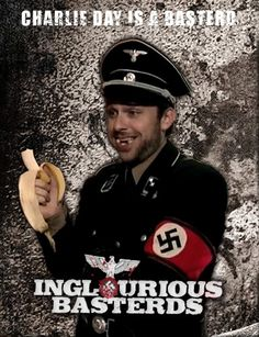 Charlie Kelly // It's Always Sunny In Philadelphia // Charlie Day // Inglorious Basterds