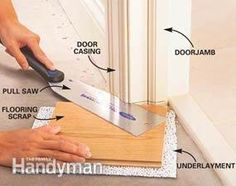 How To Install Laminate Flooring | Pinterest | Installing laminate ...