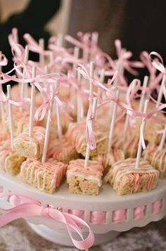 Treats for girls - baby shower