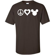 Peace Love Disney Too T-Shirt