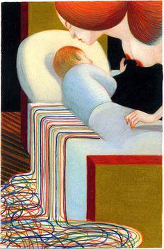 Sigmund Freud. Racconti analitici © Einaudi - Lorenzo Mattotti Lorenzo Mattotti: ILLUSTRATIONS