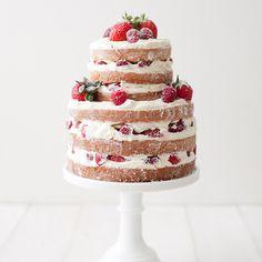 60 аппетитных тортов с фруктами и ягодами