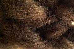 Mohair Yarn in Bean Brown by eweandmeyarns on Etsy, $5.25