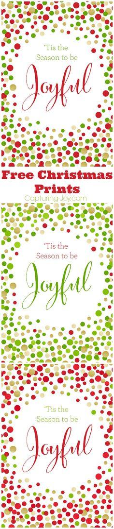 Christmas Gift ideas with FREE PRINTABLE! Capturing-Joy.com