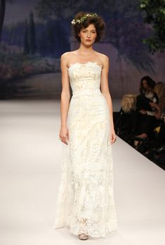 Pirouette by claire pettibone wedding dresses fall 2012 - this dress looks stunning in this lighting