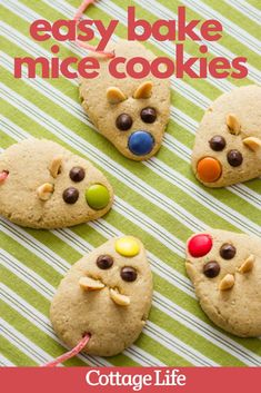 Make this easy-to-bake Christmas cookies this holiday season. This is one of the best Christmas baking ideas for kids. #christmas #christmascookiesrecipes #christmasbakingideas #cookies #easyrecipe #cookierecipe #CottageLife Christmas Baking, Kids Christmas, Christmas Cookies, Baking Recipes For Kids, Baking Ideas, Holiday Desserts, Easy Desserts, Cinnamon Streusel Coffee Cake, Cookie Cottage