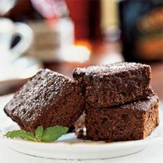 Irish Cream Brownies..perfect for st. pattys day.  I would bake for a little less than 20 minutes though