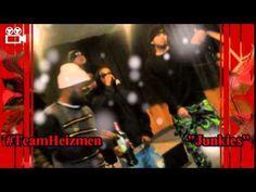 "Team Heizmen Performing ""JUNKIES"" Live!!! #BlueAlbumRelease"