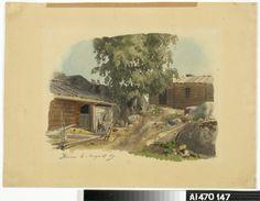 Kansallisgalleria - Taidekokoelmat - Sepän talo ja piha