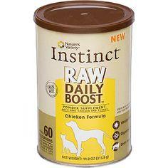 Nature's Variety Instinct Raw Daily Boost Powder Supplement