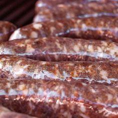 Homemade Sausage Recipes - How to Make Sausage Hank Shaw - Deer Sausage with Bone . - Homemade Sausage Recipes – How to Make Sausage Hank Shaw – Deer Sausage with Bone … - Venison Sausage Recipes, Homemade Sausage Recipes, Bratwurst Recipes, Italian Sausage Recipes, Meat Recipes, Rub Recipes, Cooking Recipes, How To Make Sausage, Sausages